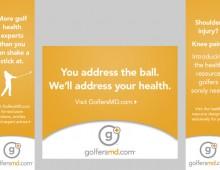 GolfersMD – banners
