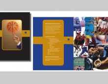 Kensington Court – sports brochure