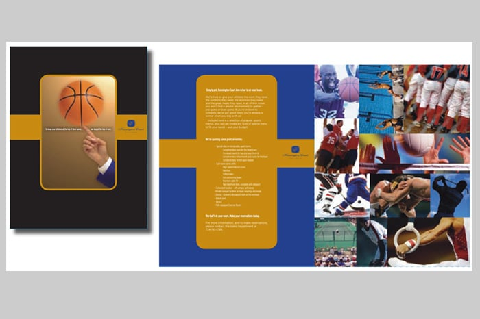 Voornas Creative  Kensington Court  Sports Brochure